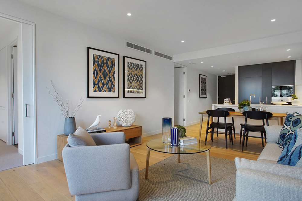 Spacious apartment living at Drummond Place Carlton